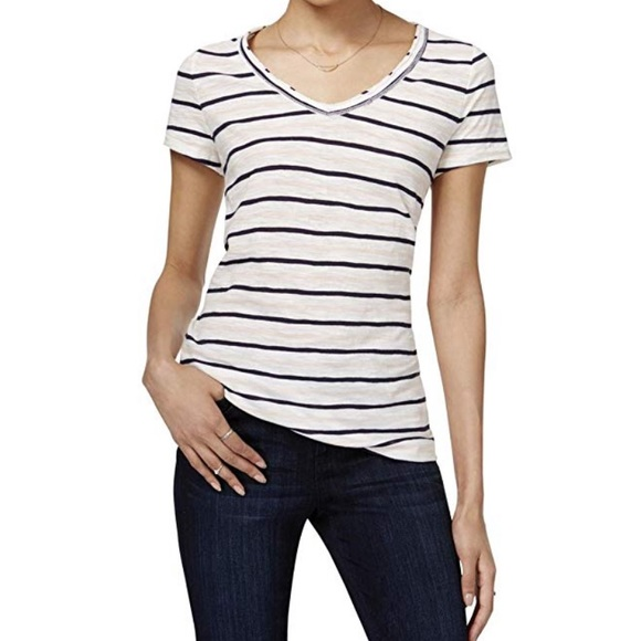 4d58c7a2 Maison Jules Tops | Nwt Striped Tshirt | Poshmark